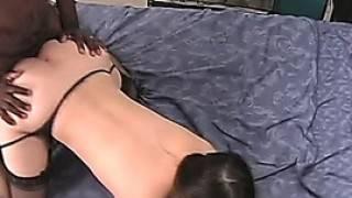 Amateur Black Guy Fucks His Asian Girlfriend