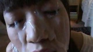 Hot Asian is fantastically POV facialled