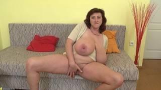 Jana P. (huge Boobs On Mature European Housewife)