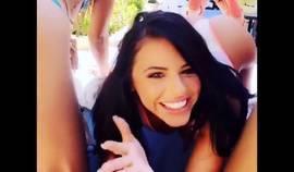 Adriana Chechik Snapchat Compilation