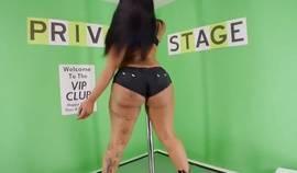 Big Ass On Ebony Stripper