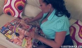 Danica Collins – Dirty Mag Wank