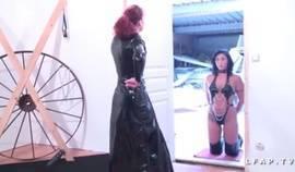 Mistress Tortures Her Bitch