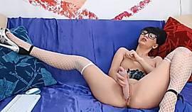 Super Hot School Girl Masturbates With Fingers