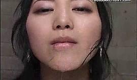 Asian Cum Eating Bukkake