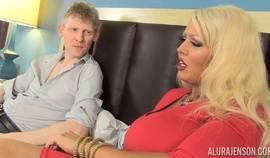 Curvy Blonde Dominated