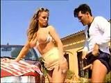 Busty Pornstar Outdoor Banged